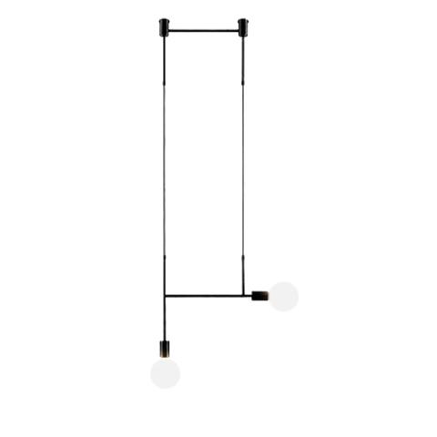 Потолочный светильник копия Side Kick by Volker Haug (черный)