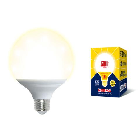 LED-G95-16W/3000K/E27/FR/NR Лампа светодиодная. Форма