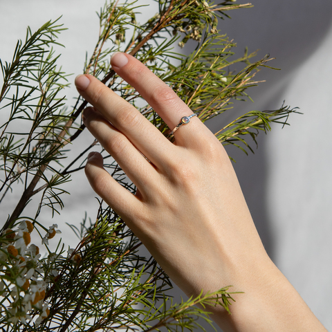 Кольцо BETA - Опал