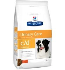 Ветеринарный корм для собак, Hill`s Prescription Diet c/d Multicare, против струвитов, с курицей