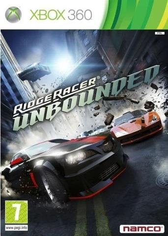 Xbox 360 Ridge Racer Unbounded (английская версия)