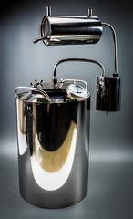 Самогонный аппарат «Премиум», с термометром и расширенной горловиной, фото 3