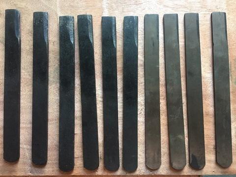 Комплект плоских ножей для станка С-65