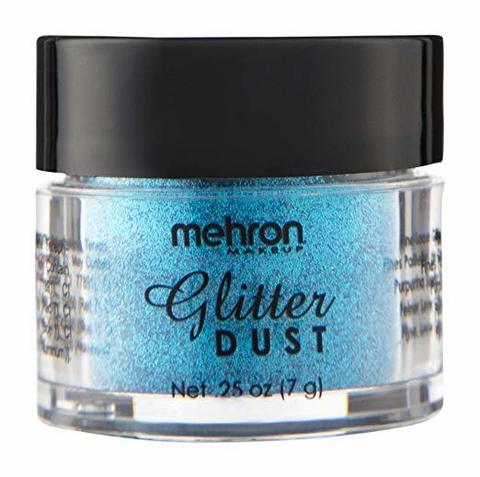 MEHRON Рассыпчатые блестки Glitter Dust, Deacon Blue (Синий), 7 г
