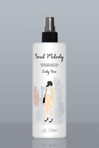 Liv delano Soul Melody Спрей-вуаль парфюмированный Lady Boss 200мл