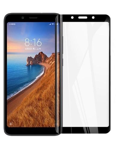 Защитное стекло для Xiaomi Redmi 7A (черное)