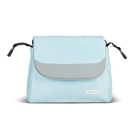 Коляска Tutis MIMI Style 3 в 1 светло-голубой+серая кожа