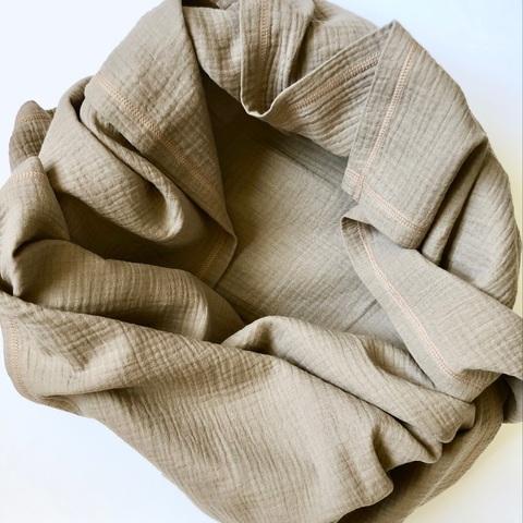 Плед-пелёнка Mjölk Fog из муслинового хлопка