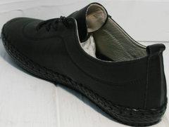 Красивые мокасины женские Evromoda 115 Black