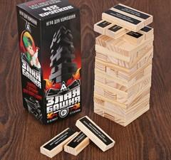 Настольная игра «Злая башня», 48 брусков, фото 1