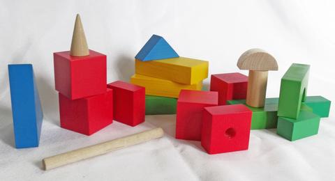 Набор настольный деревянный 34 элемента