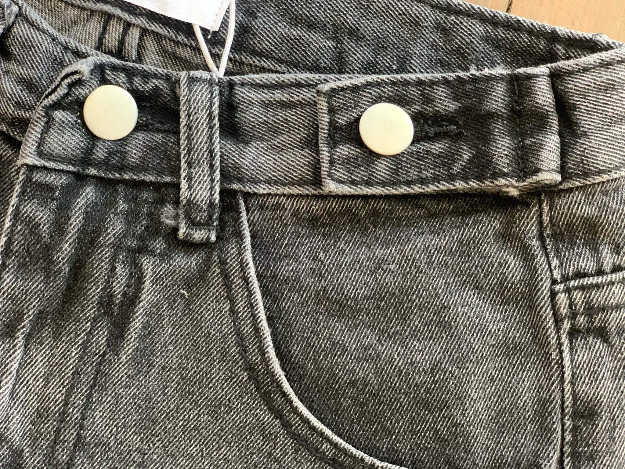 Джинсовые шорты с подгибом