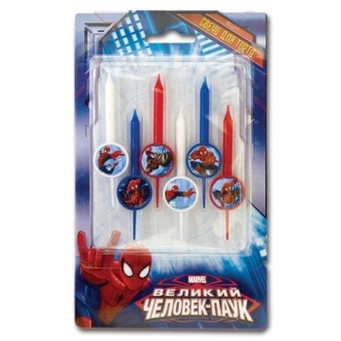 Свечи в торт Человек паук