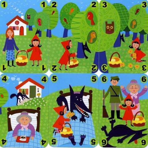 Карточная игра Красная шапочка