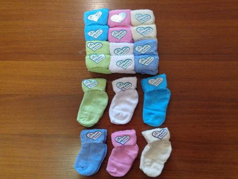Носочки д/новорожденных( махровые)