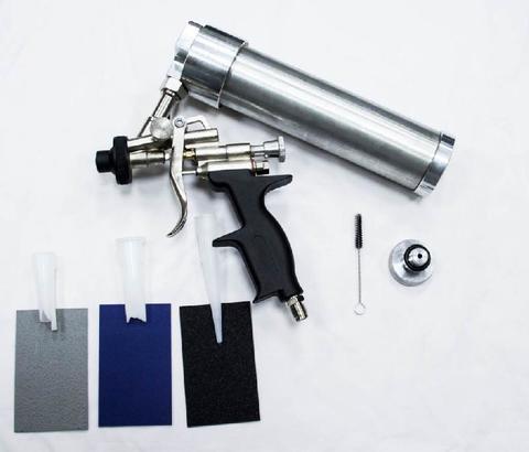 334.0290 SOLID SPRAY GUN - Пистолет пневматический для нанесения распыляемых герметиков 290 мл. фото