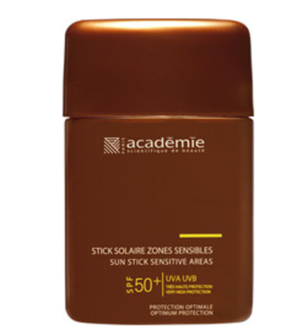 Academie Stick Solarie Zones Sensibles  Sun Stick Sensitive Areas SPF50+