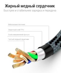 Зарядный шнур PZOZ  lightening для Iphone, Ipad