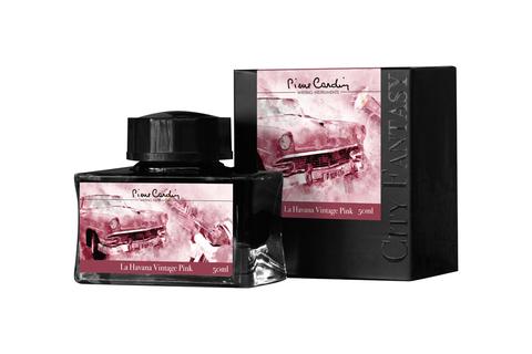 Pierre Cardin Чернила (флакон) 50 мл, розовые