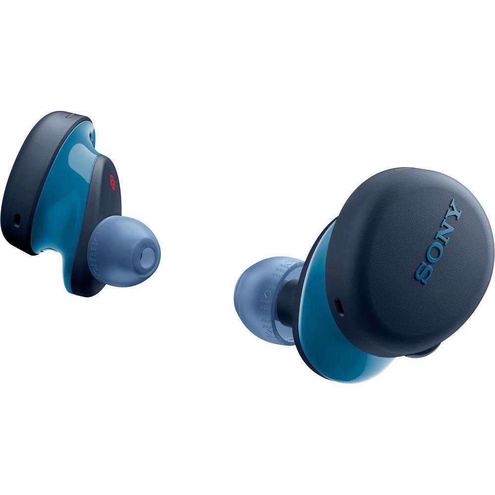 WF-XB700L беспроводные наушники Sony, цвет синий