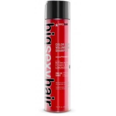 Sexy Hair Big: Шампунь для объёма без сульфатов и парабенов (Color Safe Volumizing Shampoo), 300мл/1л