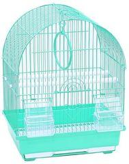 N1 клетка для птиц овальная 30*23*39см