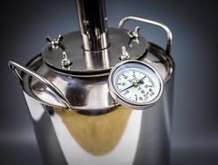 Самогонный аппарат «Премиум», с термометром и расширенной горловиной, фото 4