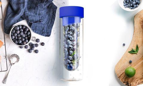 Бутылка Asobu Flavour it (0,48 литра), голубая