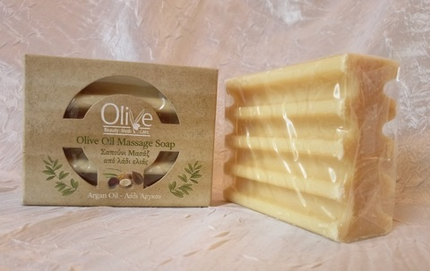 Массажное мыло с аргановым маслом