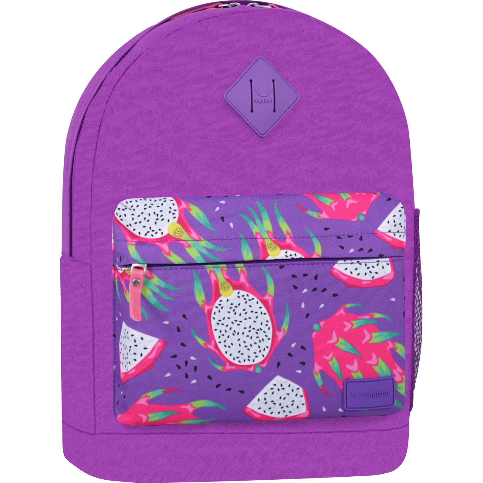 Городские рюкзаки Рюкзак Bagland Молодежный W/R 17 л. 339 Фиолетовый 759 (00533662) IMG_7385_суб759_-1600.jpg