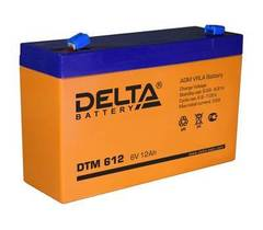 Аккумулятор Delta DTM 6V/12А