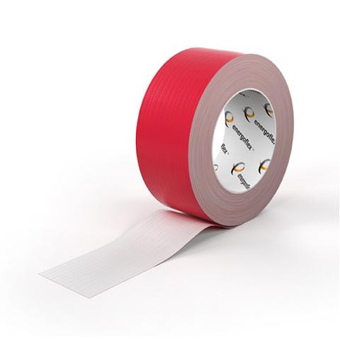 Лента армированная самоклеящаяся Energoflex шириной 48 мм - длина 25 м (цвет красный)