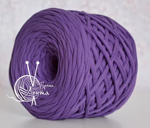 Пряжа Лента Фиолетовый