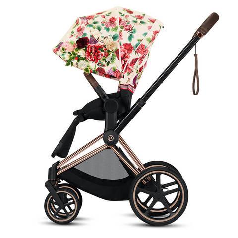Прогулочная коляска Cybex Priam III FE Spring Blossom Light