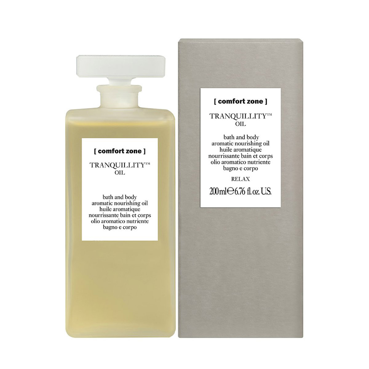 Масло Comfort Zone Tranquility Bath and Body Aromatic Nourishing Oil 200 мл