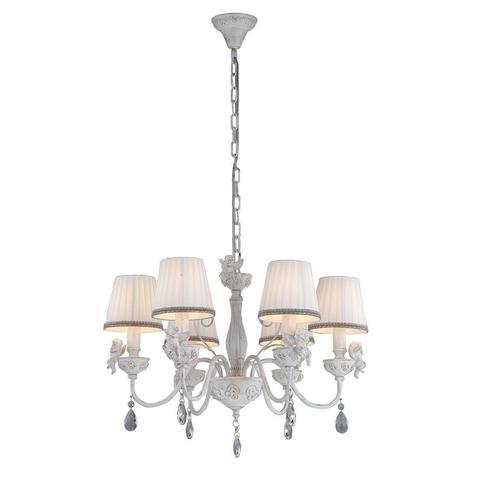 Подвесная люстра Arte Lamp Сherubino A5656LM-6WG