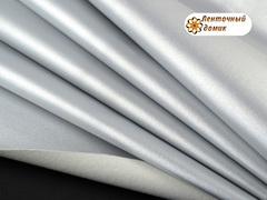 Эко-кожа Металлик серебряная (уценка)