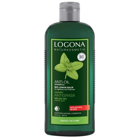 Шампунь для жирных и комбинированных волос с Экстрактом Мелисы 250 мл (LOGONA)
