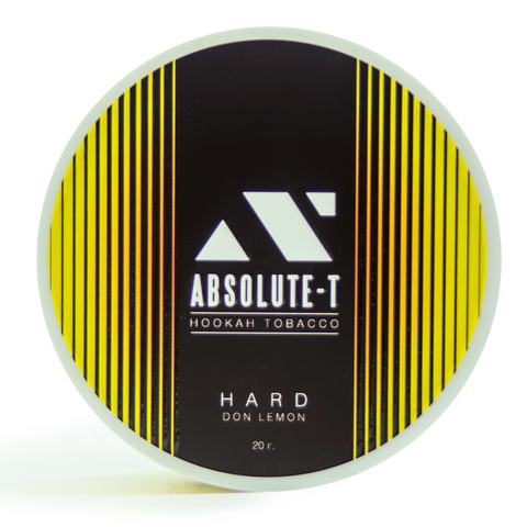 Табак Absolute-T Hard 20 гр Don Lemon