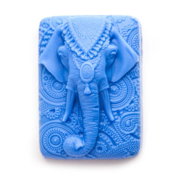 Пластиковая форма для мыла Слон индийский