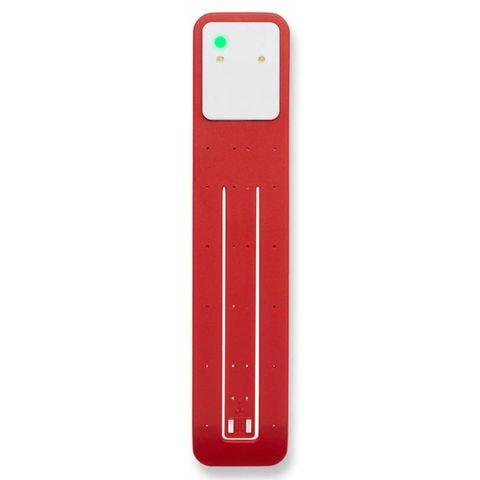 Фонарик-закладка Moleskine Booklight светодиодный красный