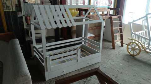 Кроватка-домик Белоснежка