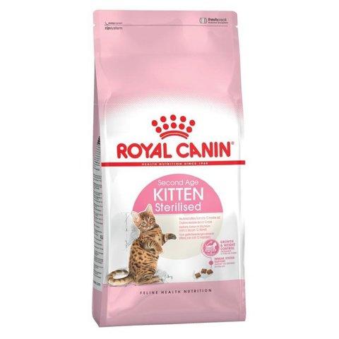 Royal Canin Kitten Sterilized сухой корм для стерилизованных котят 400г