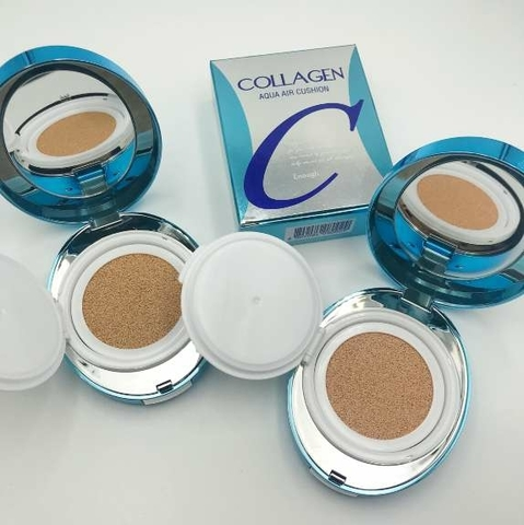 Кушон увлажняющий с коллагеном Enough - Collagen Aqua Air Cushion SPF50+ PA+++