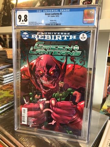 Green Lanterns #5 CGC 9.8
