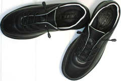 Повседневные кроссовки женские осенние Rozen M-520 All Black.