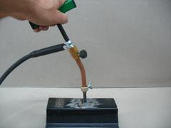 Насадка для прогрева угольным электродом.