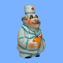 Штоф фарфоровый Доктор