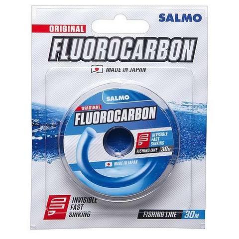 Леска монофильная Salmo FLUOROCARBON 30м, 0,08мм