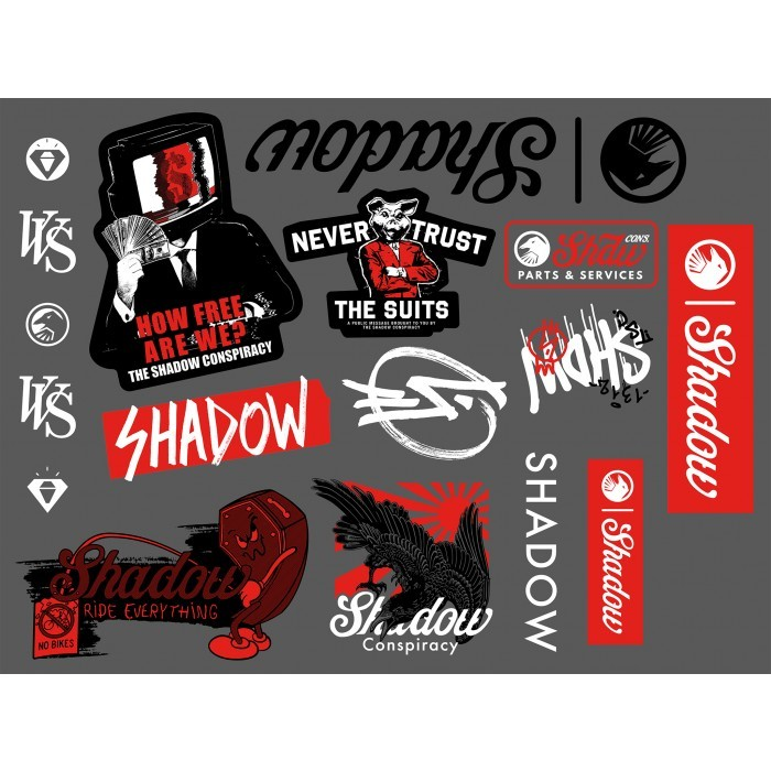Наклейка Shadow Sticker Pack 2020 ((мульти) арт: 104-09501)